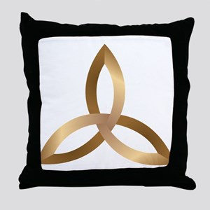 Holy Trinity Throw Pillow