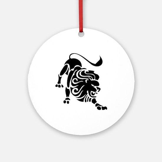 Leo - The Lion Ornament (Round)