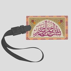 islamicart5 Large Luggage Tag