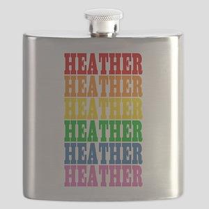 rbwnames_HEATHER Flask