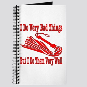 I Do Very Bad Things Journal