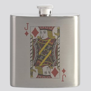 Jack of Diamonds Flask