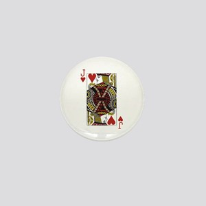 Jack of Hearts Mini Button