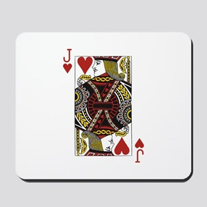Jack of Hearts Mousepad