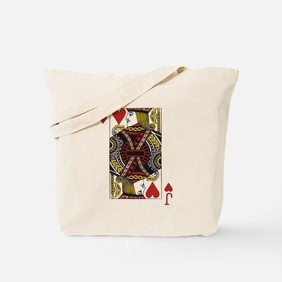Jack of Hearts Tote Bag