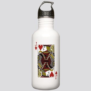Jack of Hearts Stainless Water Bottle 1.0L