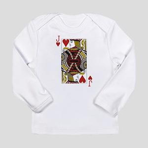 Jack of Hearts Long Sleeve Infant T-Shirt