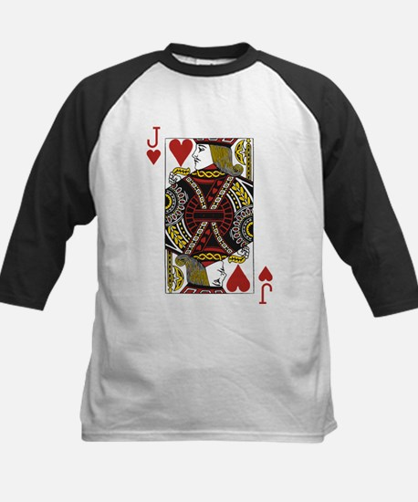Jack of Hearts Kids Baseball Jersey