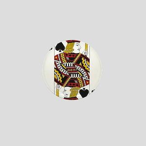 Jack of Spades Mini Button