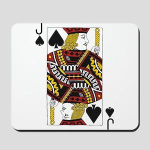 Jack of Spades Mousepad