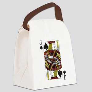 Jack of Spades Canvas Lunch Bag