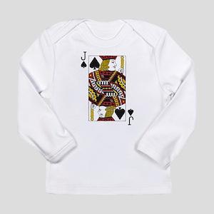 Jack of Spades Long Sleeve Infant T-Shirt