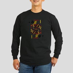 Jack of Spades Long Sleeve Dark T-Shirt