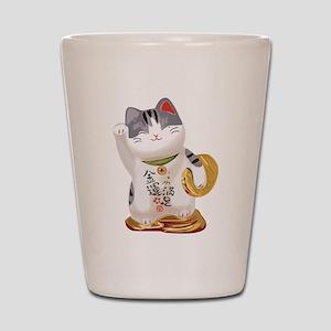 Lucky Cat Shot Glass