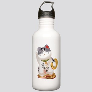 Lucky Cat Stainless Water Bottle 1.0L