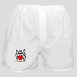 Brock Family Crest - Brock Coat of Ar Boxer Shorts