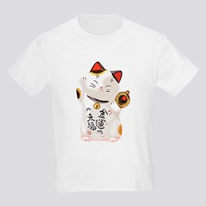 Lucky Cat Kids Light T-Shirt
