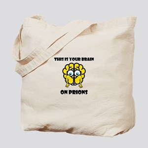 Brain On Prions 02 Tote Bag