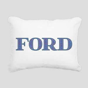 Ford Rectangular Canvas Pillow