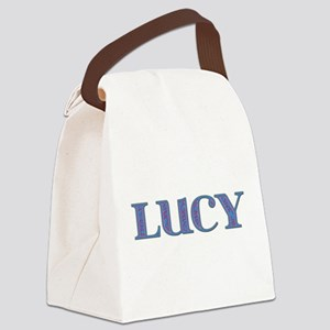Lucy Canvas Lunch Bag