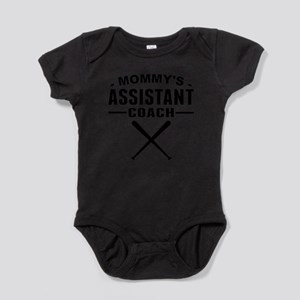 Mommys Assistant Softball Coach Body Suit