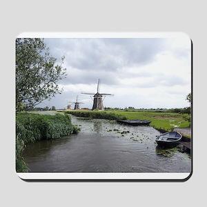 Dutch windmills Mousepad