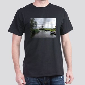 Dutch windmills Dark T-Shirt