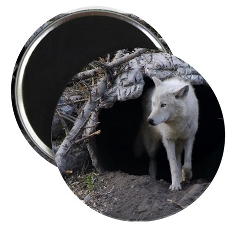 Wolf Den Magnet