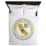 Custom Mission Bell OES Queen Duvet