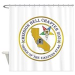 Custom Mission Bell OES Shower Curtain