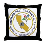 Custom Mission Bell OES Throw Pillow