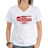 Winchester Arms Tavern Women's V-Neck T-Shirt