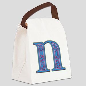 N Canvas Lunch Bag