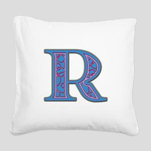 R Square Canvas Pillow