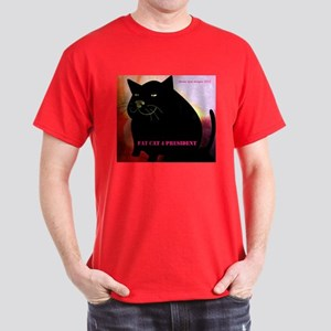 Fat Cat 4 President Men's Dark T-Shirt