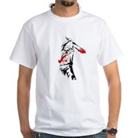 Kill The Zombies White T-Shirt