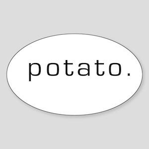 Potato Oval Sticker