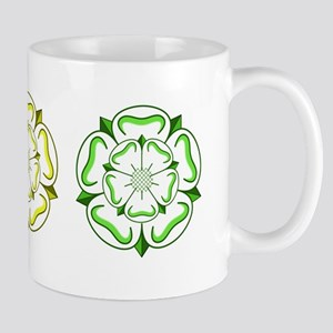Three Yorkshire Roses Mug
