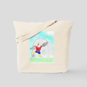 Soccer Eagle Tote Bag