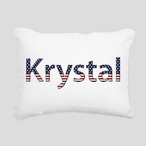 Krystal Rectangular Canvas Pillow