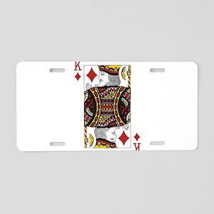 King of Diamonds Aluminum License Plate