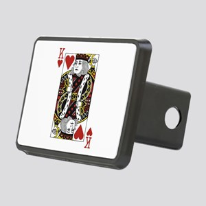 King of Hearts Rectangular Hitch Cover