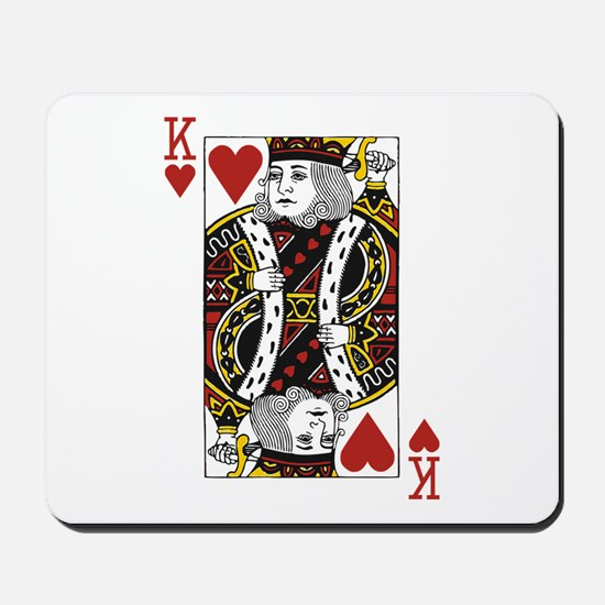 King of Hearts Mousepad