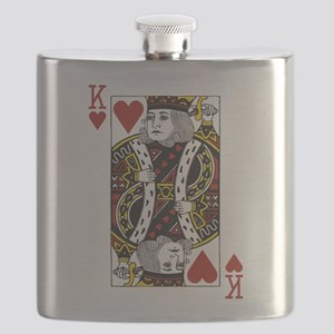 King of Hearts Flask