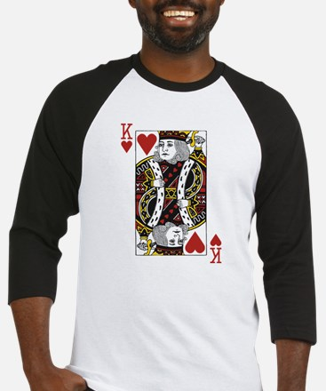 King of Hearts Baseball Jersey