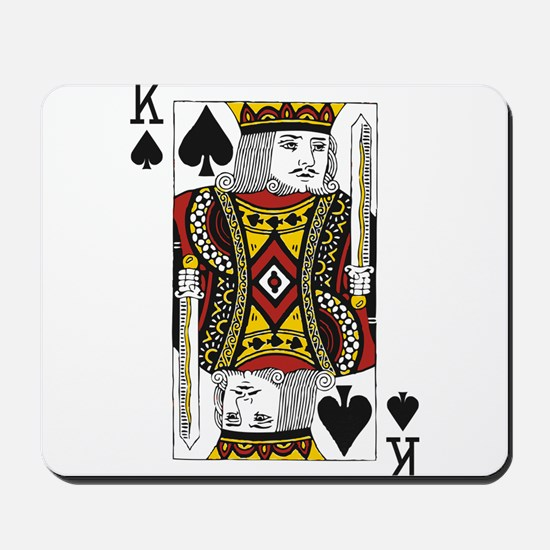 King of Spades Mousepad