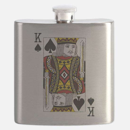 King of Spades Flask