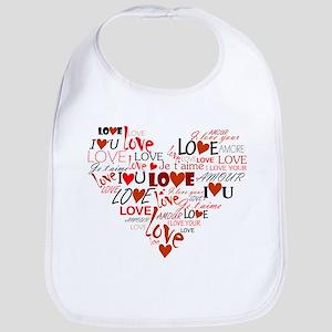 Love Heart Bib