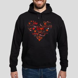 Love Heart Hoodie (dark)