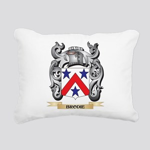 Brodie Family Crest - Br Rectangular Canvas Pillow